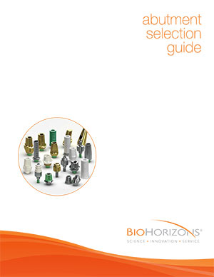 Abutment selection guide