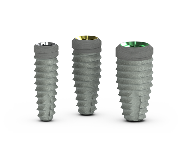 Tapered Plus dental implants
